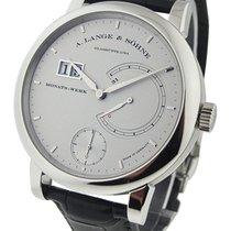 A. Lange & Söhne 130.025 Lange 31 Mens Manual in Platinum...