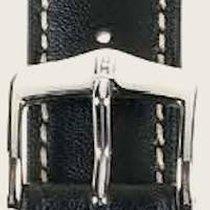 Hirsch Uhrenarmband Heavy Calf schwarz L 01475050-2-20 20mm