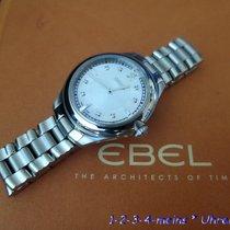 Ebel ONDE Ladies Stahl/26 Diamanten & Perlmutt