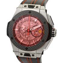 ウブロ (Hublot) Big Bang Ferrari Carbon Red Magic Titanium 45MM