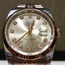 Rolex Datejust 36mm Stainless Steel and Rose Gold 116231