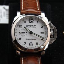 Panerai PAM00523  Luminor 1950 Automatic White Dial