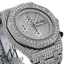 오드마피게 (Audemars Piguet) Diamonds  Royal Oak Offshore Watch...