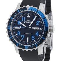Fortis Aquatis Marinemaster Day/Date Blue 670.15.45 K