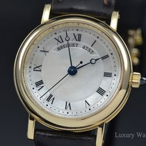 Breguet Classique Mother of Pearl Dial 18K Yellow Gold Auto 8067