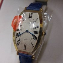 Cartier Tonneau GM BA - Manual - Men Size - 18Kt / Leather Strap