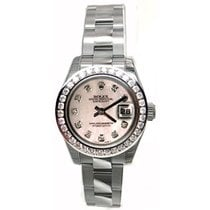Rolex Datejust Lady's Stainless Steel New Heavy Style...