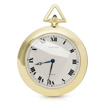 Cartier Pocket Watch in 18K Yellow Gold