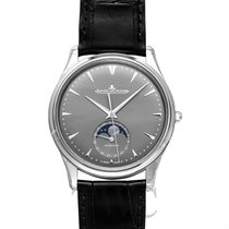 Jaeger-LeCoultre Master Ultra Thin Moon Grey Stainless Steel -...