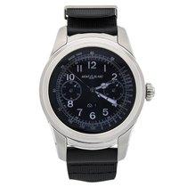 Montblanc Summit Smartwatch - Steel Case with Black Rubber Strap