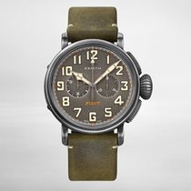 Zenith PILOT TYPE 20 CHRONOGRAPH TON-UP 45mm Aged Steel...