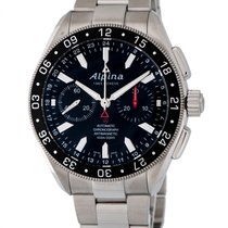 Alpina Alpiner 4 Chronograph Automatic Men's Watch – AL-860B5AQ6B