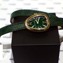 Bulgari Serpenti Rose Gold Green Laquered dial - 102726