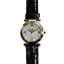 Chopard Imperiale 18k Rose Gold Silver Quartz 384238-5001