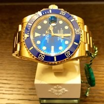 Rolex Submariner Date Yellowgold Blue Dial 116618LB