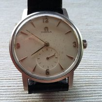Omega oversize vintage steel mechanically wound with small...