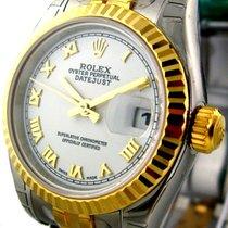 Ρολεξ (Rolex) Datejust Steel / Yellow Gold White Dial 26mm