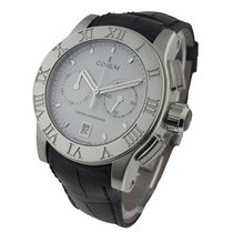 Corum 61320.102005 Corum Romulus Chronograph in Steel -...