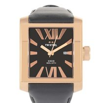 TW Steel CEO Goliath Rose Gold-plated 42mm Mens Watch CE3011