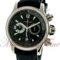 Jaeger-LeCoultre Master Compressor Chronograph, Black Dial -...