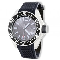 Zannetti Piranha Full Gray Stahl Automatik 51mm