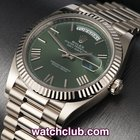 Rolex Day-Date White Gold - 'New 40mm Anniversary Model'