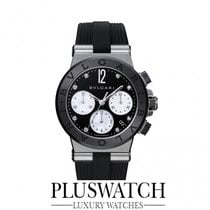 Bulgari Diagono Chronograph Black/White Dial 37mm  RO