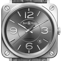 Bell & Ross BR S Automatic 39mm BRS92-RU-ST/SCR