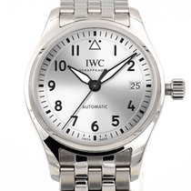 IWC Pilot 36 Date Silver Dial