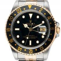 Rolex GMT Master II Stahl Gelbgold Automatik Armband Jubilé...