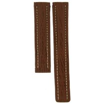 Breitling Dark Brown Leather Strap For Deployment Buckles...