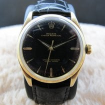 Rolex OYSTER PERPETUAL 1005 14K Yellow Gold Gilt Dial