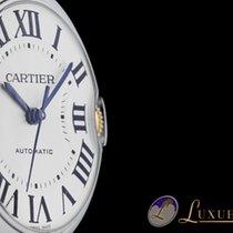 Cartier Ballon Blue Ladies Watch Gold / Edelstahl Automatik 36mm