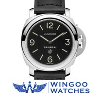 Panerai LUMINOR BASE LOGO ACCIAIO - 44MM Ref. PAM01000