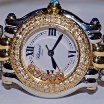 Chopard Happy Sport 18K Gold Diamonds