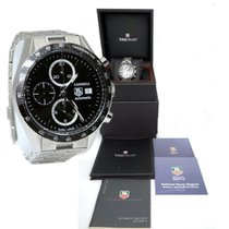 TAG Heuer Carrera Stainless Steel Automatic Calibre 16 Black...