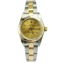 Rolex 2-Tone/Oyster Perpetual/REF: 76193