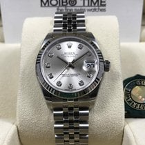 Rolex 178274 31mm Datejust Lady Silver Diamond Dial [NEW]
