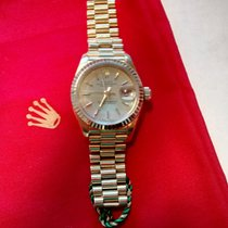 Rolex Lady Datejust 18K President Ref 69178