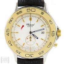 Chopard Uhr Damen Chrono Mille Miglia Edelstahl/Gold Ref. 12/8163