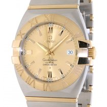 Omega Constellation 12031000 Steel, Yellow Gold, 38mm