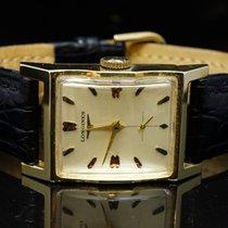 Longines 14ct Yellow Gold Mechanical strap watch