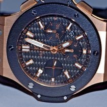 Hublot Big Bang 18K Rose Gold 44mm Automatic Chronograph Ceramic