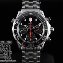 Omega Seamaster Diver Chronograph Black Dial 42mm