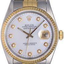 Rolex Men's Diamond Rolex Datejust Steel & Gold 2-Tone...