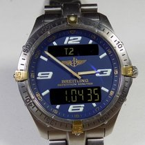 Breitling Aerospace - F65362 - Alarm Chronograph - Blue Dial -...