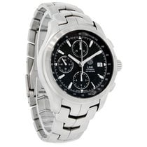 豪雅 (TAG Heuer) Link Mens Swiss Chronograph Automatic Watch...