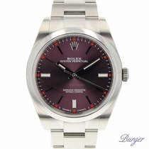 Rolex Oyster Perpetual 39 Red Grape NEW