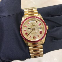 Rolex Day Date 40mm Yellow Gold Ruby Limited Edition