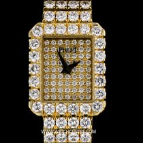 Piaget 18k Yellow Gold Fully Loaded Lady Tradition Diamonds Watch